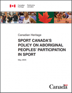Aboriginal Participation in Sports
