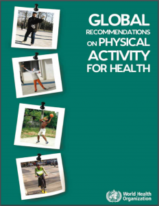 Global Recommendations on Physical Activity for Health