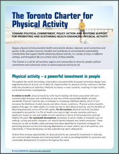 Toronto Charter for Physical Activity