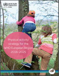 WHO: Physical Activity Strategy for the European Region 2016 - 2025